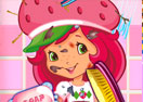 Messy Strawberry Shortcake