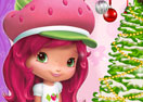 Strawberry Shortcake Christmas Room Decoration