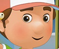 Coloring Handy Manny