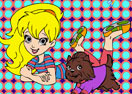 Polly Pocket Online Coloring